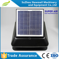 hot selling easy operation economic 14inch master flow solar attic fan for home use
