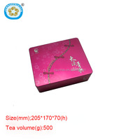 rectangular Air tight tin box for tea and coffee tea tin can