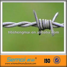 made in china barbed wire(ISO9001:2008 certificated) anping factory