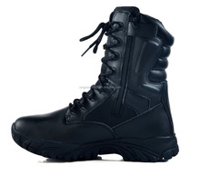 Custom made Black Color Military Boots For Mens