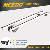 Aluminum alloy Simple style Cross Rack.Luggage rack.Screw fixing Roof Racks For Ford Explorer