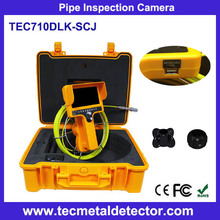 Underground CCTV Pipe Inspection Camera with Portable 23mm mini Camera TEC710DLK-SCJ