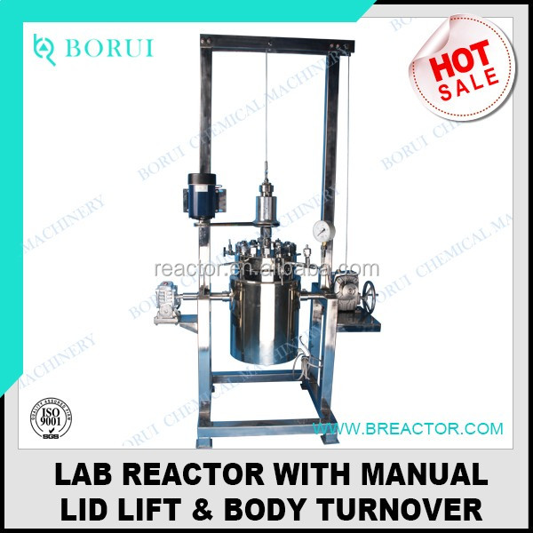 5L reactor, chemical reactor, pyrolysis reactor