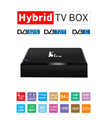 Hot Selling Quad Core 4k Smart Android Tv Box K1 Pro/K1 PLUS DVB S2 T2 High Quality Android Tv Box 7.0