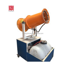 Industrial truck mounted dust remove equipment/ high pressure water spray gun dust fall machine/dust cleaning equipment