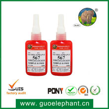 Guo elephant 567 Anaerobic adhesives for pipes,steel pipe adhesive