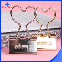Heart handle 32mm bulldog clips