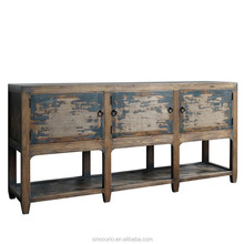 Antique furniture recycled elm wood boutique furniture