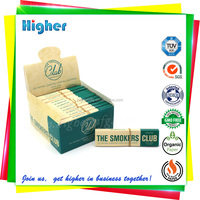 OEM Elastic band closed booklet with filters tips smoking tobacco rolling papers