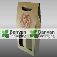 Wine glass packing box