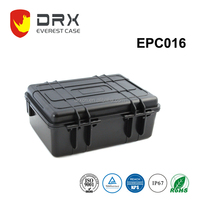 ABS/PP Hard case waterproof dustproof equipment case plastic carrying case
