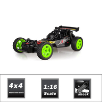 2016 Top Popular 1/16 Scale 2.4G High Speed F1 RC Car