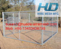 Chain Link Panel for enclosure dog kennel