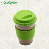 Eco-friendly unbreakable mugs, cafe mug with silicone