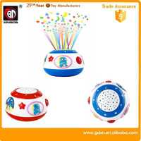 Smart touch plastic drum,Plastic Educational baby toys 2015