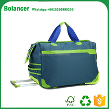 Factory direct durable trolly travel bag with high quality