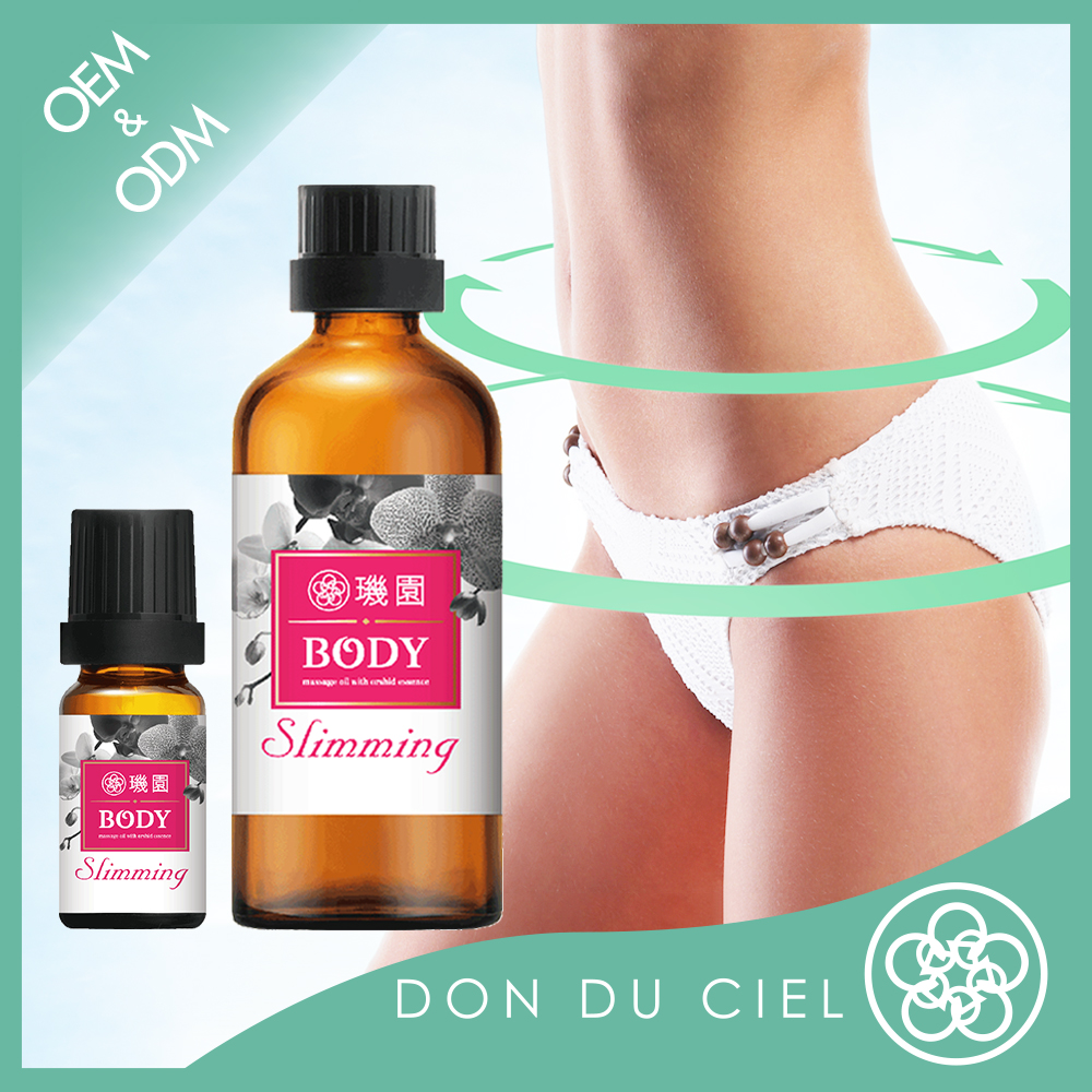 Hot body massage essential oil for weight loss slimming products