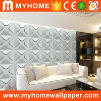 2016 Beautiful Living Room Walls 3d Wallpaper PVC Panels for Home Decoration