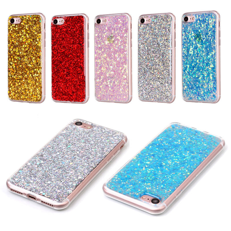 Wholesale new tech Drop glue shimmering powder for Motorola G4 PLAY mobile phone cover