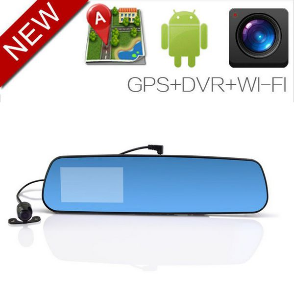 New Low price Android 4.0.3 rear view GPS navigation Bluetooth Wifi wireless car front view camera