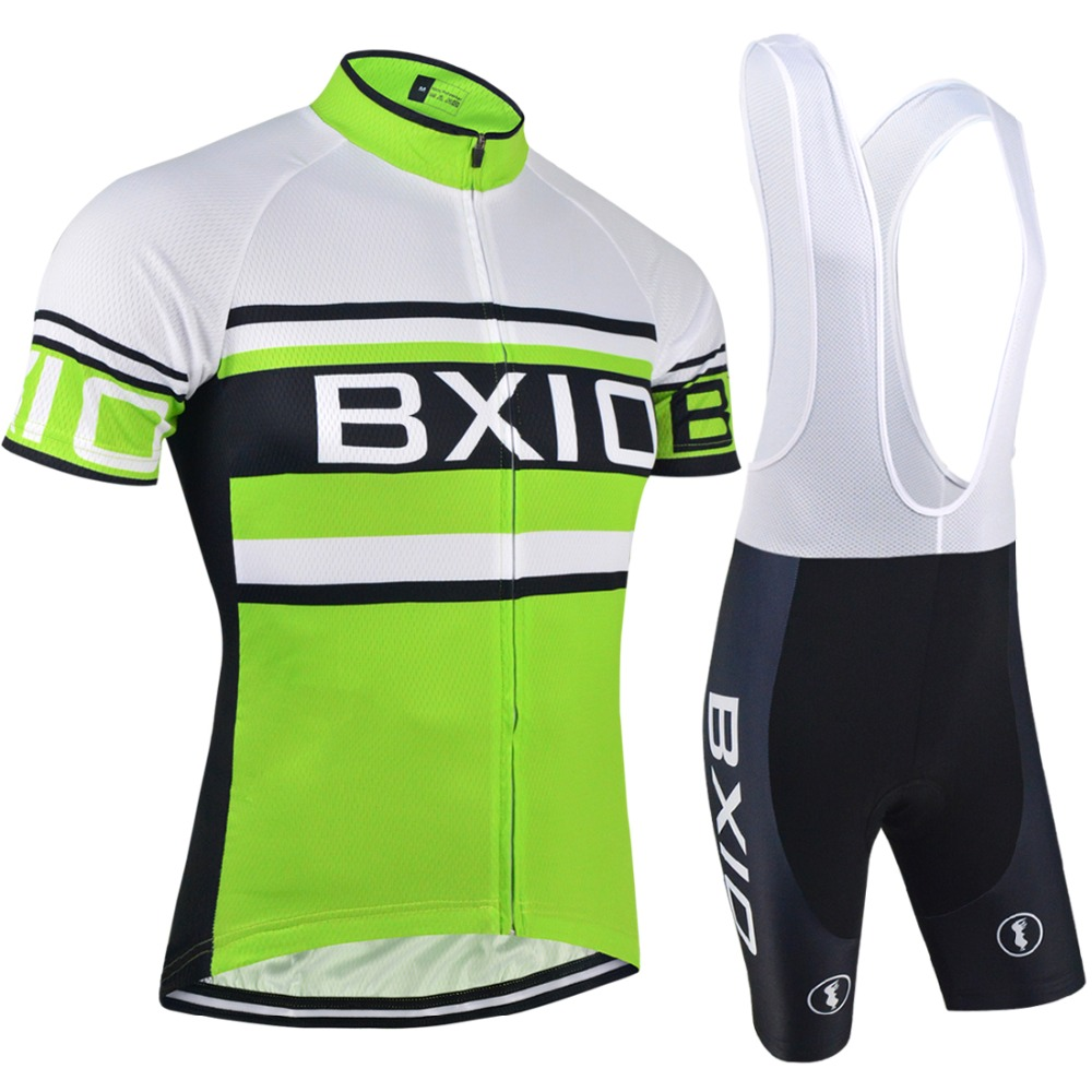 BXIO Mountain Bike Jersey Pro Cycling Sets Short Sleeve Custom Bicycle Clothing OEM Bike Uniform Ropa De Ciclismo BX-0209G009
