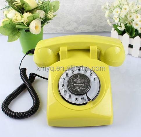 2015 New Design Phone fixe Decorative Fancy Corded Telephone Set For The Home