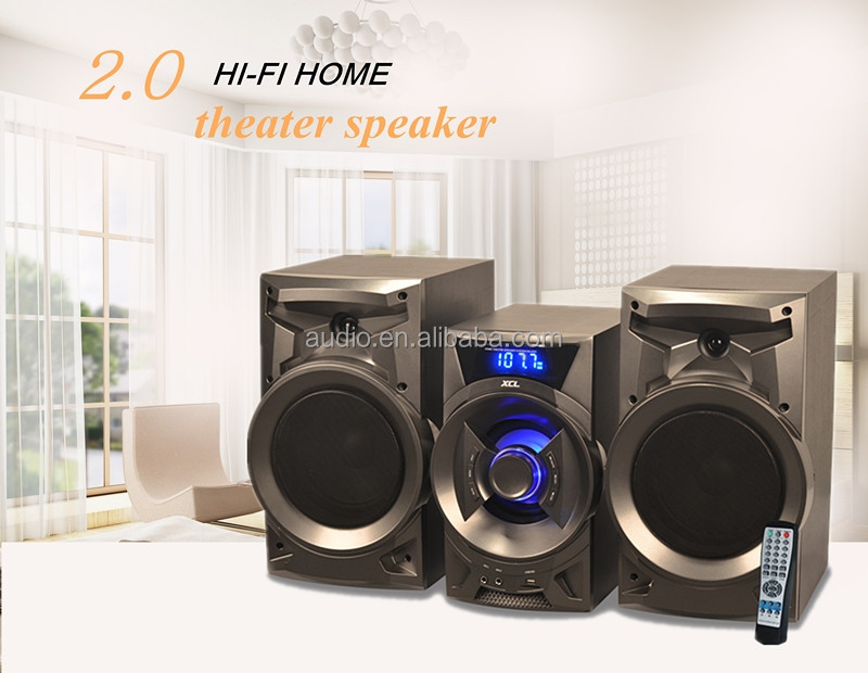 Audio equipment micro hifi system with super bass