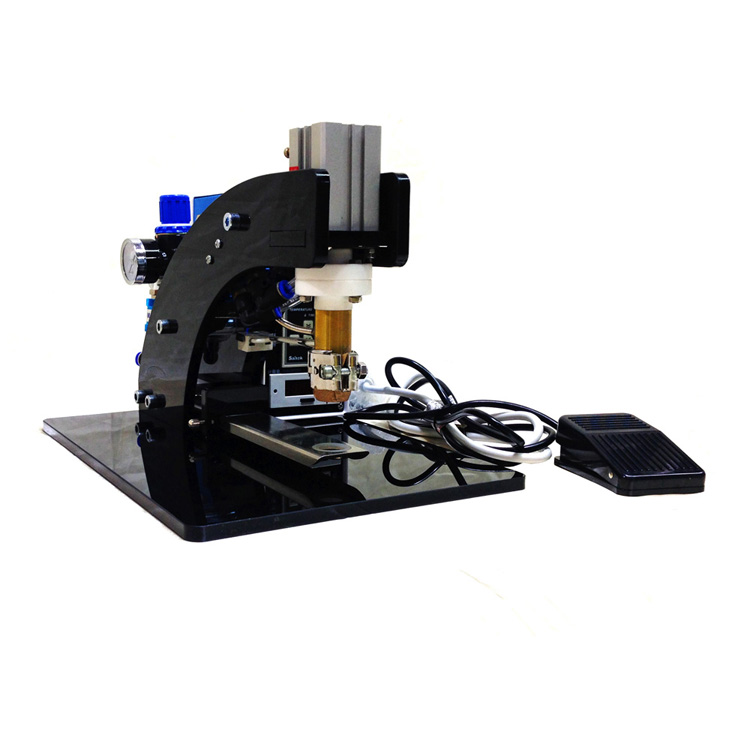 semi-automatic valve hot press machine for coffee bags(JP2)