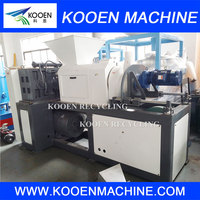 After washed plastic film squeeze dryer machine for squeezing pelletizing