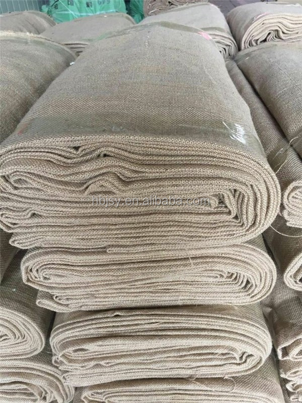 jute burlap cloth roll for nurseries & tobacco packing hemp hessian cloth for tree roots and machine covering gunny sacking