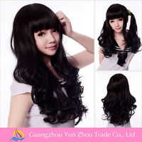 Best sale alibaba fr guangzhou shine hair trading natural curl wigs wigs for african americans