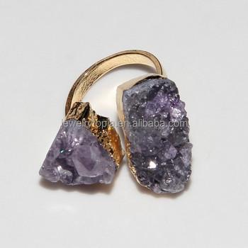 rg0365 cheap fashion amethyst gemstone ring