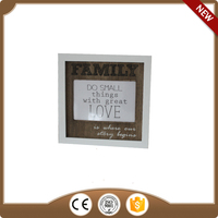 wooden digital picture photo frame