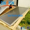 High quality flat panel solar collector of white frame, high selective coating