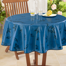 120 round PEVA cocktail bistro table linen
