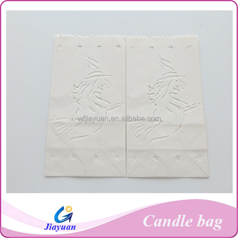 Free sample!! New year decoration white candle paper lanterns, candle dcoration lanterns
