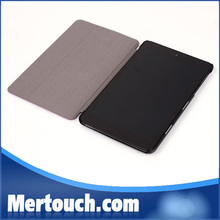 New arrival 3 folding For Dell Venue 8 Pro leather case cover, for dell venue 8 pro case