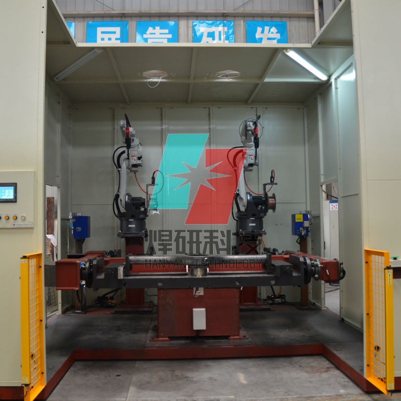 Cnc Welding Supplier South Africa: Robot Welding For Y-shape Longitudinal Seams Of Axle