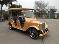 China ISO utility 4-12 seater electric classic golf car for sale