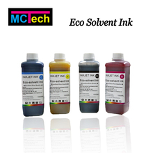 6 colors Eco-Solvent Ink for banners/PVC sheets/car wraps/canvas flex printing