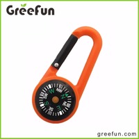 High Quality Brunton Compass With Climbing Carabiner Set Hot Selling Compass Survival Equipment