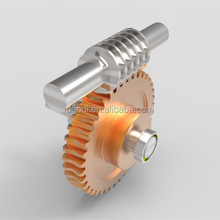 Customer custom design cheap price small steel worm gear slew drives