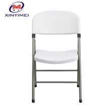 China professional cheap outdoor folding vip plastic chair