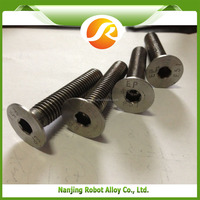 HastelloyC22 stainless hex bolts a2-70