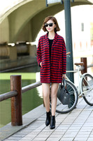 Slim Fit Valentine's Day 2014 Women Coat And Skirt