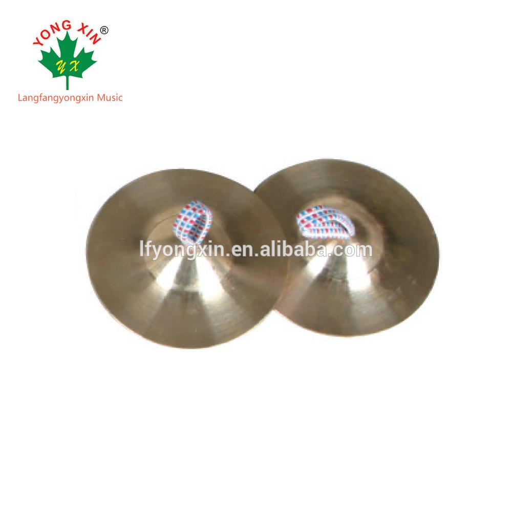 Venda quente instrumentos musicais de Percussão mudo Cobre b8 Cymbal pacote par para o bebê