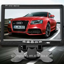 "7"" digital vehicle monitor with car rear view camera for bus,coach,trailer"
