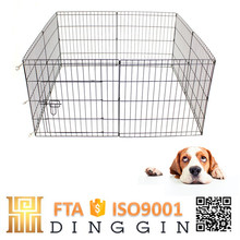 Collapsible dog fence animal cage