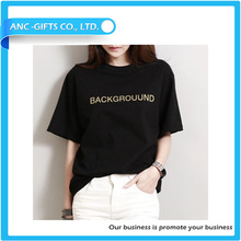 sublimation printing soft fashionable rubber print on t-shirt