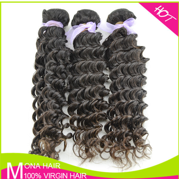 Cheap price for raw different types of curly hair